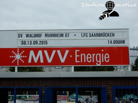 Waldhof Mannheim - 1 FC Saarbrücken_13-09-15_01